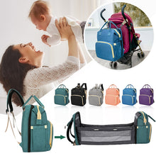 Load image into Gallery viewer, 3 in 1 - Backpack, Portable Crib, Diaper Bag