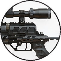 Load image into Gallery viewer, EVANIX SNIPER PCP AIR RIFLE IN 5.5MM