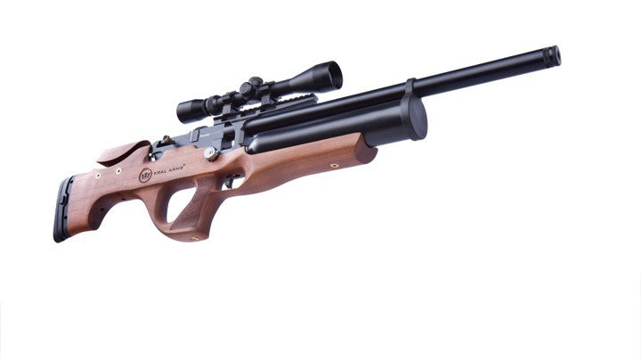 KRAL PUNCHER EKINOKS PCP, WALNUT, 5.5MM - SEMI AUTOMATIC