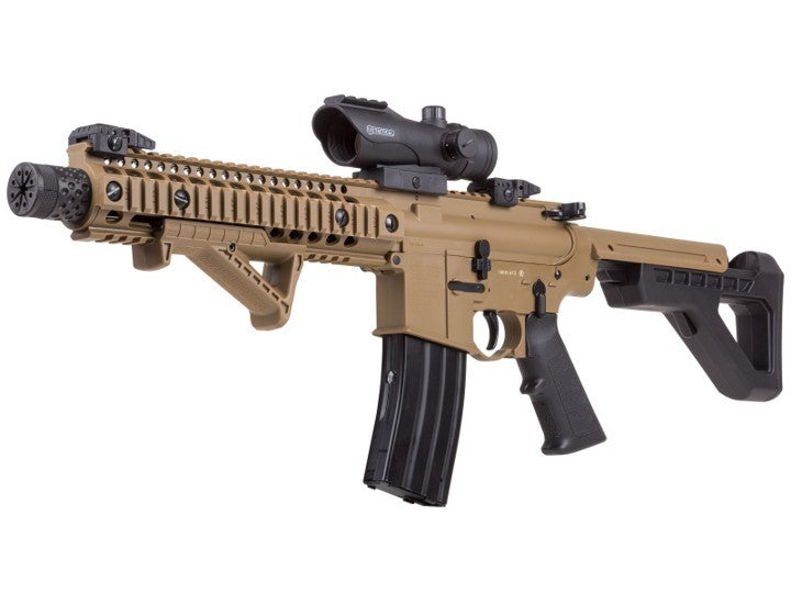CROSMAN DPMS SBR FULL AUTO BB RIFLE, FD