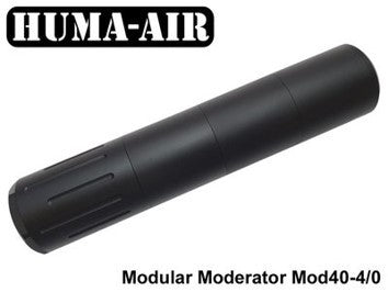 HUMA-AIR MODULAR MODERATOR MOD40-4/0 M14X1.25 FOR URAGAN AND
