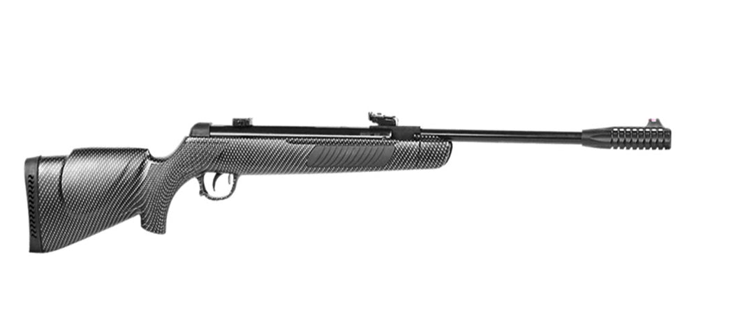 KRAL N-01C Air Rifle 5.5mm with TruGlo Open Sights - CARBON
