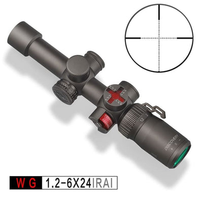 DISCOVERY WG 1.2-6X24 IRAI Scope - Scopes and Mounts