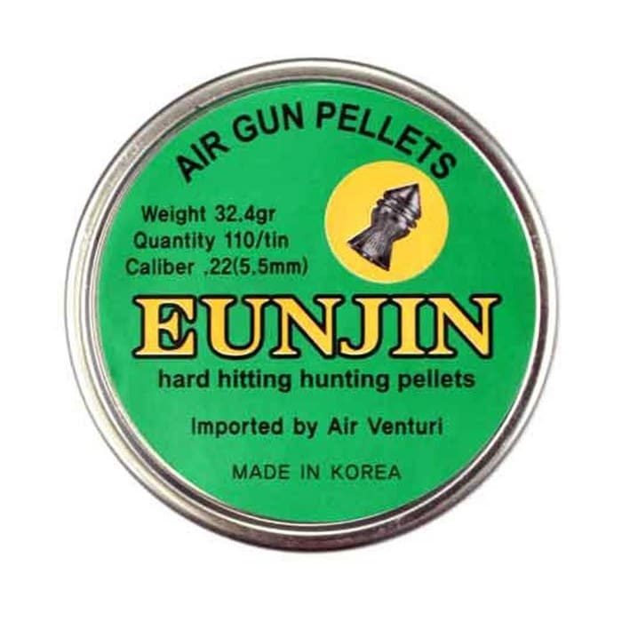 Hard hitting hunting pellets.22/5.5mm Pointed 32.4gr