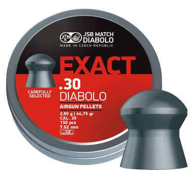 JSB Diabolo Exact 7.62mm .308 Cal 50.15 Grain Airgun Pellets