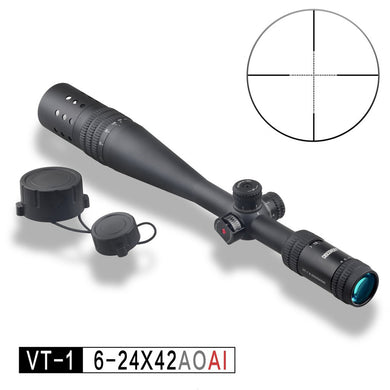 DISCOVERY Optics Riflescope VT-1 PRO 6-24X42 AOAI Hunting Tactical Long Range Airgun Air Rifle Scope