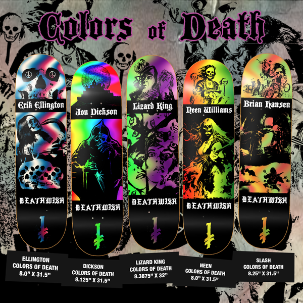 colors of death