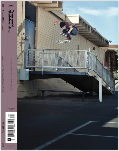 jake hayes transworld cover