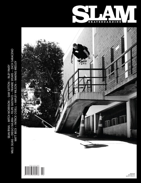 jake hayes slam magazine