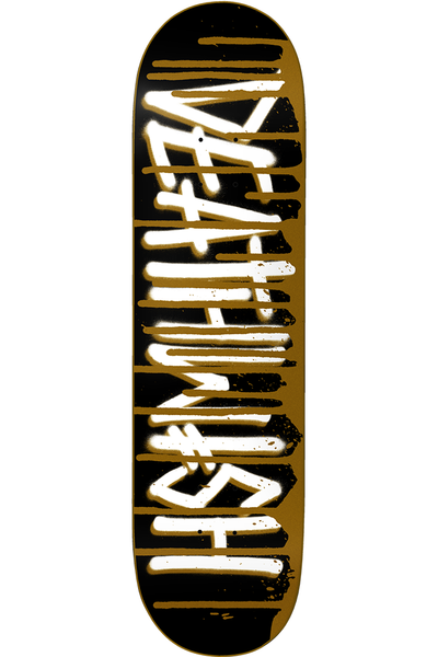 DEATHSPRAY DRIP GOLD DECK 8.0