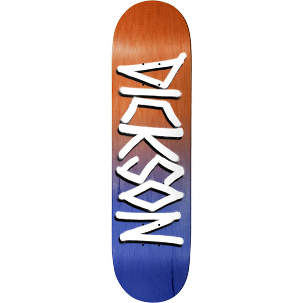 Dickson Orange/Navy Gang Name Deck 8.25