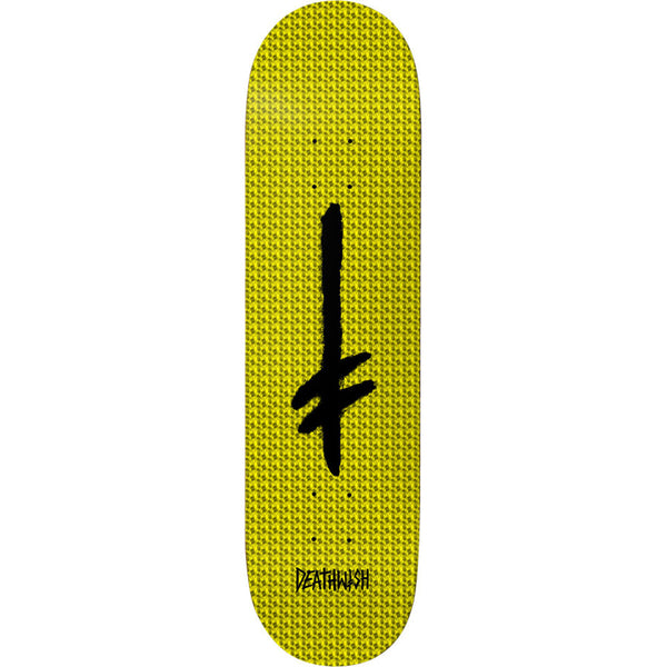 Credo Yellow Hollow Foil Deck 8.25