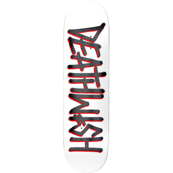Deathspray White/Grey Deck 8.25