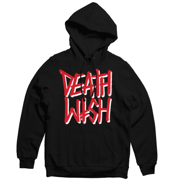 Deathstack Blk/Red Pullover