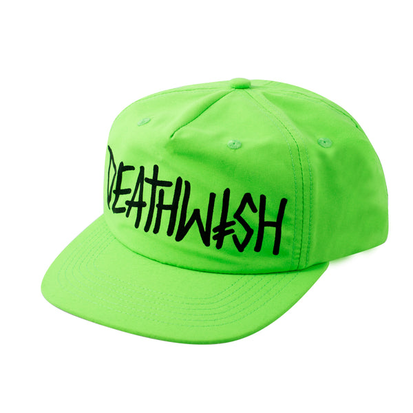 DEATHSPRAY NEON GREEN SNAPBACK