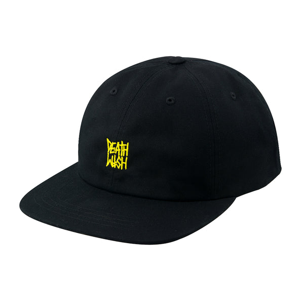 DEATH STACK SNAPBACK BLACK/YELLOW