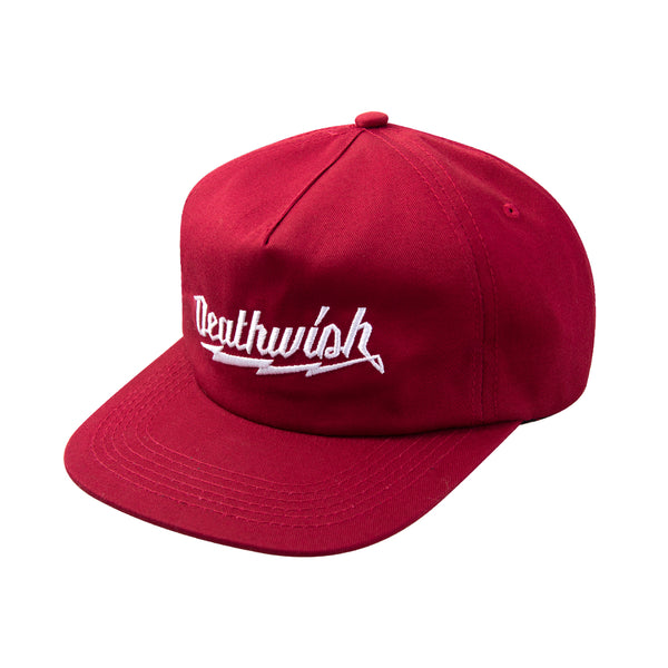 SHORT CIRCUIT SNAPBACK BURGANDY