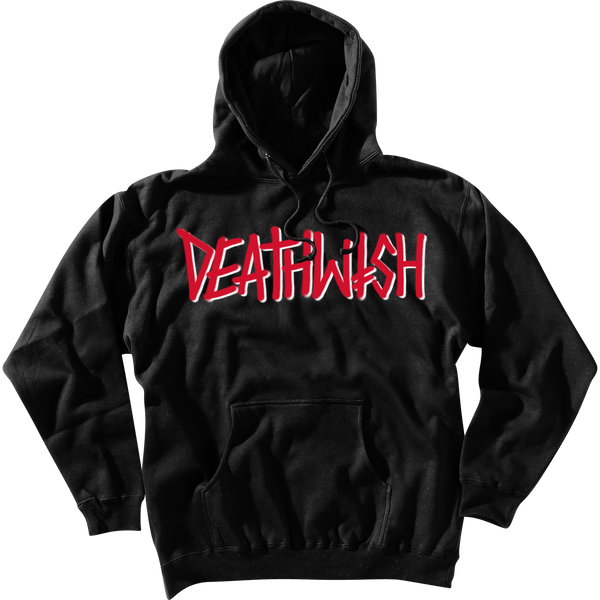 DEATHSPRAY BLACK PULLOVER