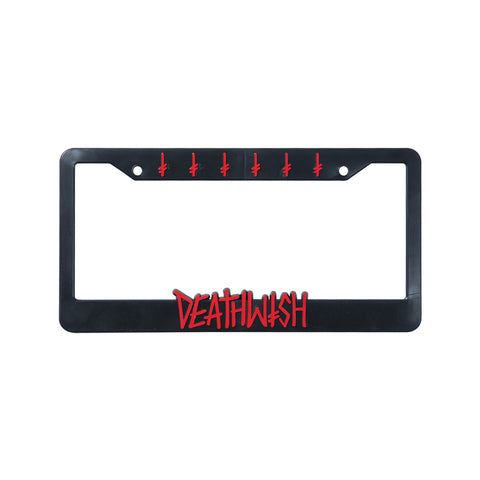 DEATHSPRAY LICENSE PLATE COVER