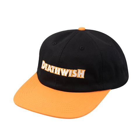 Carpenter Snapback Black/Orange