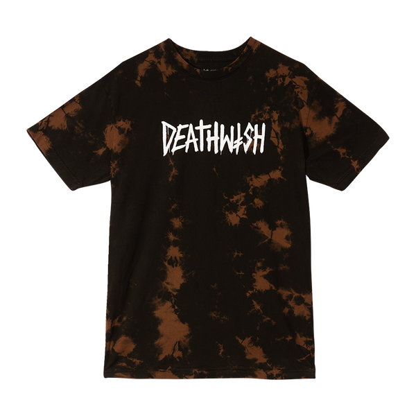 Death Tag Tee Coffee Tie-Dye