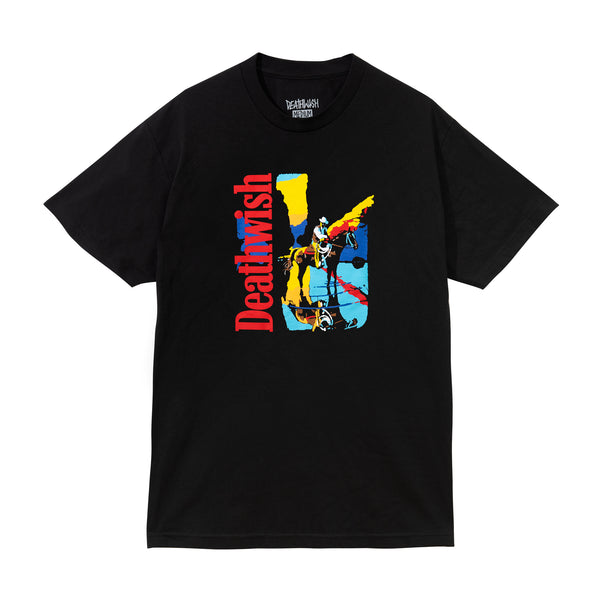 Death Valley Tee Black