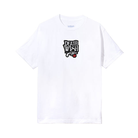 Death and Dying Tee White