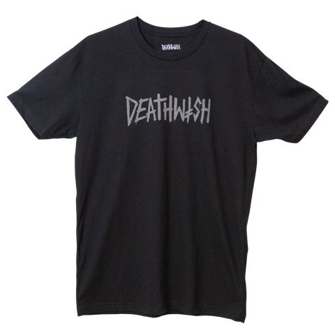 Deathtag Tee Black Shine