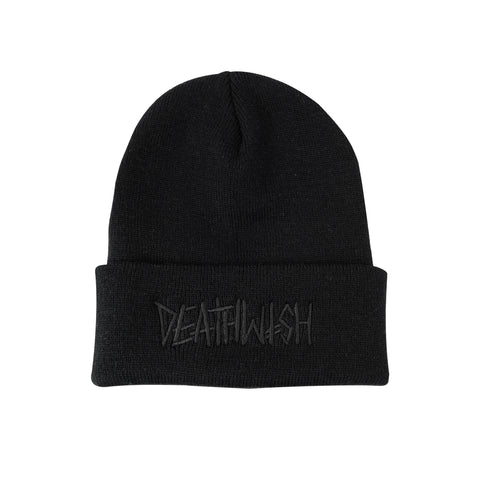 DEATHSPRAY BLACK CUFF BEANIE