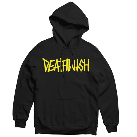 DEATHSPRAY PULLOVER BLACK/YELLOW
