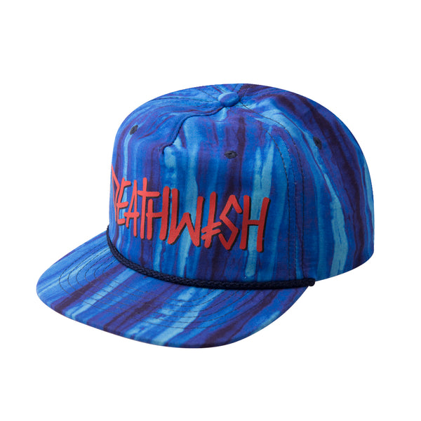 DEATHSPRAY SNAPBACK WASHED BLUE
