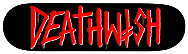 DEATH TAG BLACK/RED 8.25