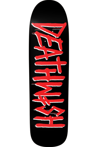 DEATH TAG BLACK/RED (SHAPED) 8.625