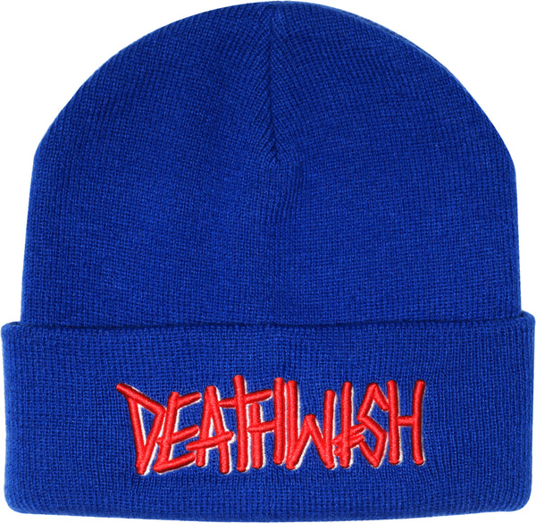DEATHSPRAY BLUE BEANIE (EMBROIDERY)