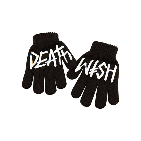 Deathspray Black Gloves
