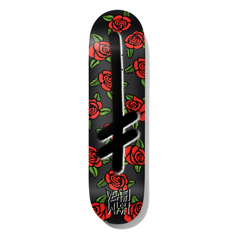 Gang Logo Mamba Black Deck 8.25