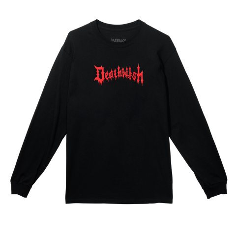 Death Wichz Long Sleeve Tee Black