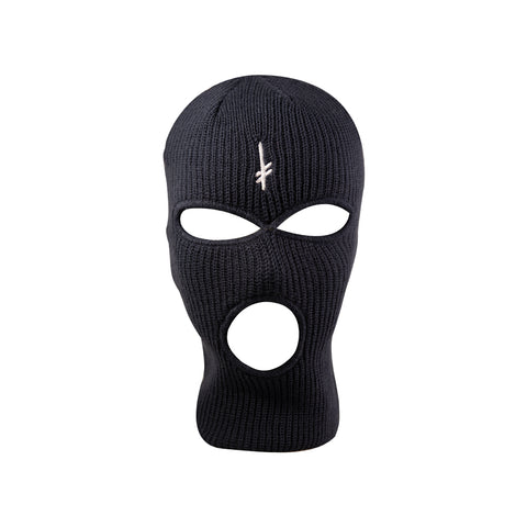 Gang Logo Navy Ski Mask