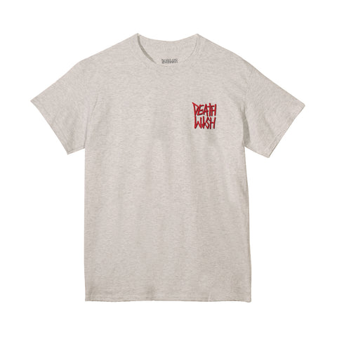 The Truth Ash/Red Tee