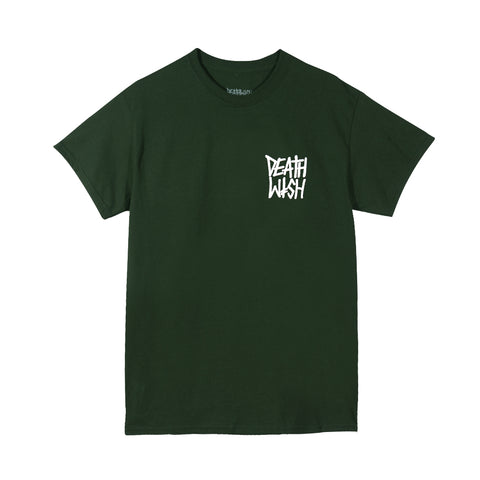 The Truth Forest Green/White Tee