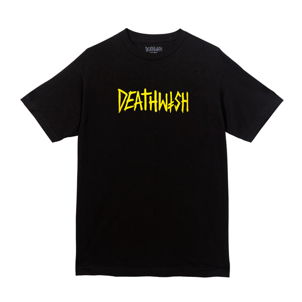 Death Tag Tee Black/Yellow