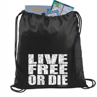 Bold Live Free or Die Backpack
