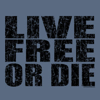 Bold Live Free or Die Long-Sleeve T-shirt