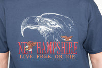 Embroidered Shadow Eagle T-shirt