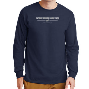 Moose Over/Under Long Sleeve T-Shirt