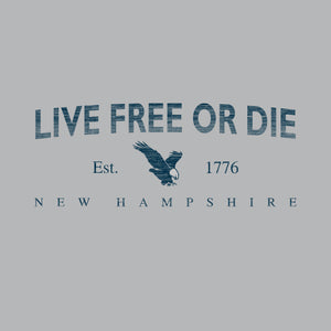Eagle Live Free or Die T-shirt