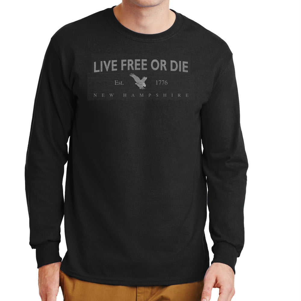 Eagle Live Free or Die Long Sleeve T-shirt