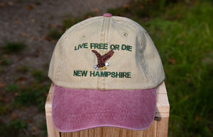 Live Free or Die Eagle Hat