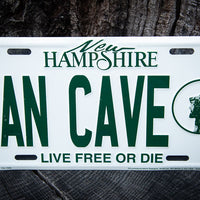 License Plate-Man Cave