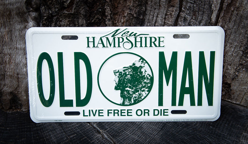 License Plate-Old Man
